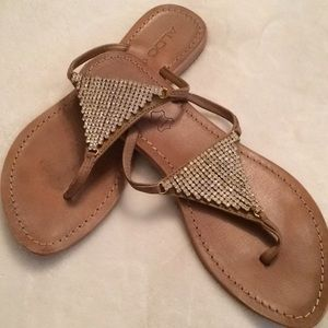 Also rinestone sandals